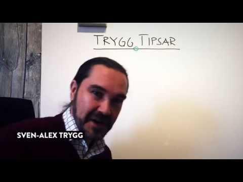 Trygg Tipsar - Att säga nej är att säga ja!