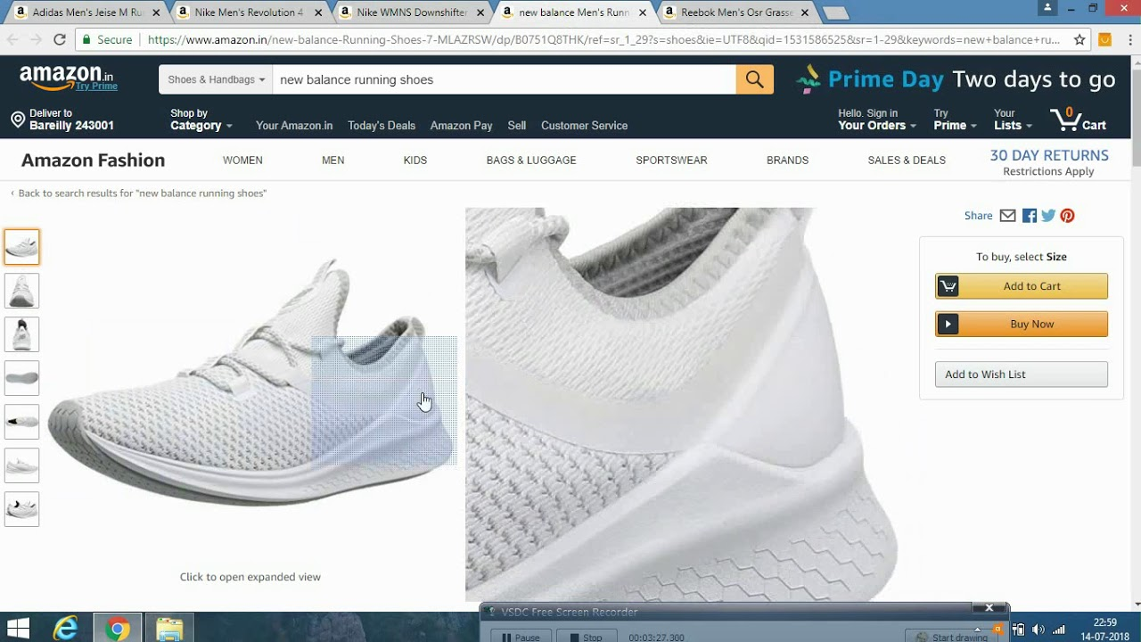 55fa79cccc Amazon Mens On Top Shoes 5 Youtube Running For qBZY1fw