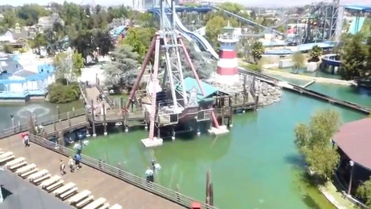 California Great America Theme Park - YouTube