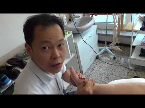 152. Fußschmerz vorderbereich 5 Jahr lang, keiner  helfen. Bei Kim 3 Behandl, 95% besser.