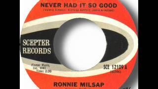 Ronnie Milsap - Never Had It So Good.wmv