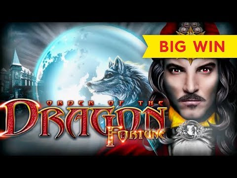 Order of the Dragon Fortune Slot - BIG WIN, ALL FEATURES! - 동영상