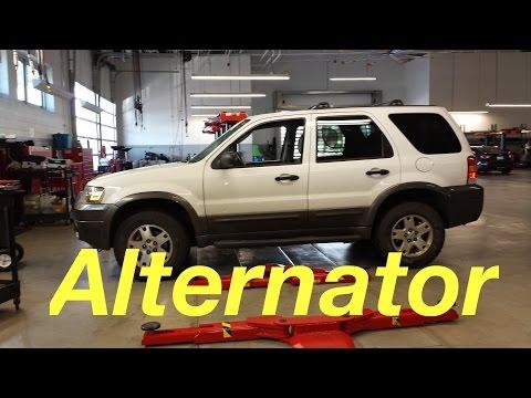 Alternator Replacement Ford Escape 2006 V6 3 0
