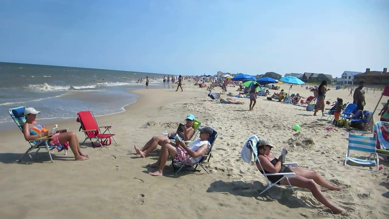 Dewey Beach Delaware Atlantic Ocean Usa