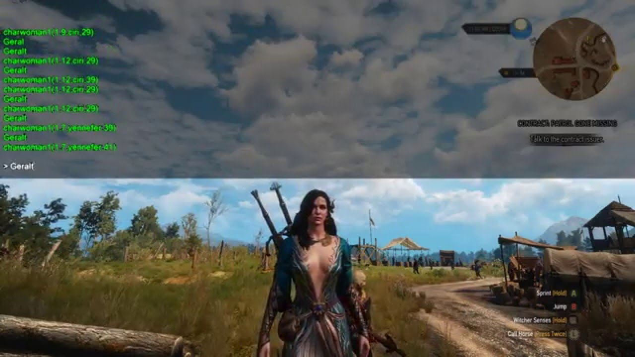 The Witcher 3 Fun With Mods: Geralt the Doppler