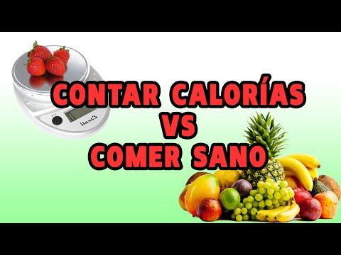 Contar calorías VS Comer sano ¿Qué es mejor para ganar músculo?