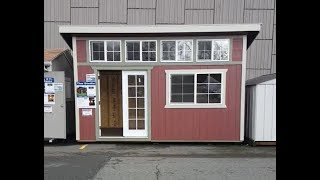 TINY HOUSE FOR SALE AT LOWE'S - SHED CONVERSION
