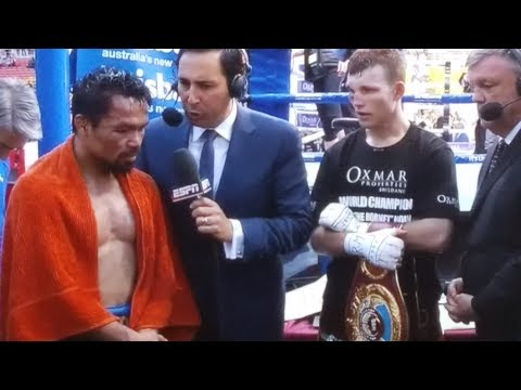 PACQUIAO ROBBED DOWN UNDER! PACQUIAO VS HORN FULL POST FIGHT RESULTS! REMATCH OR RETIRE?