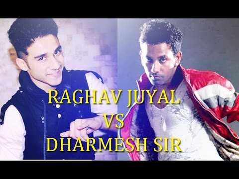BEST SLOWMOTION DANCE OF RAGHAV JUYAL VS DHARMESH SIR || RAABTA || 2016