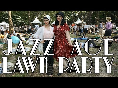 1920S GATSBY TIME TRAVEL | Jazz Age Lawn Party, NYC!