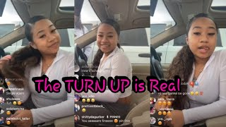NBA Youngboy Sidechic Yung Blasian LIVE Talks About Turning Up For Spring Break