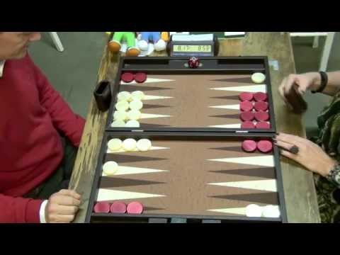 2014 Leuven Open Backgammon: Last round, to decide tournament winner