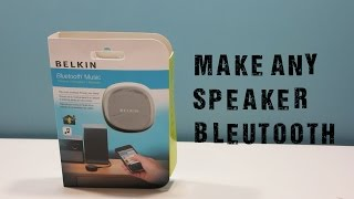 Belkin Bluetooth Music Receiver Review!