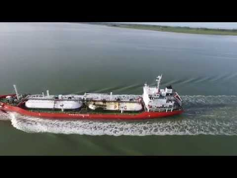 Chasing Ships 2 - Azeri Gas LPG Tanker