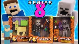 Minecraft Survival mode SERIES 8 (5 inch Action Figures) Vindicator, Llama,  Mattel Unboxing