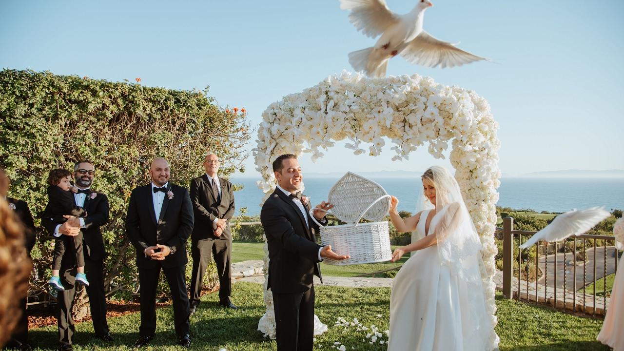 4K Gorgeous Persian Wedding Video at Trump National Golf Club, Los
