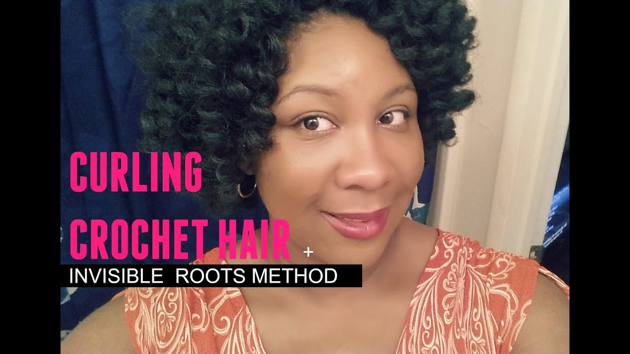 Crochet Hair Pre Curled : Pre-Curling Crochet Braiding Hair (Cuban Twist) + Invisible Roots ...