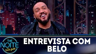 Entrevista com Belo | The Noite (30/07/18)