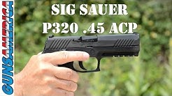 SIG SAUER P320 45 ACP