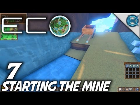 Eco | EP 7 | Starting The Mine | Let's Play Eco Gameplay (S-1)