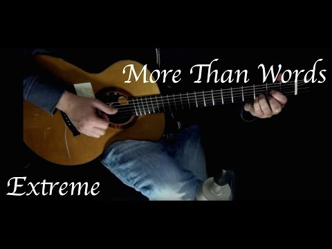 Extreme - More Than Words - Fingerstyle Guitar
