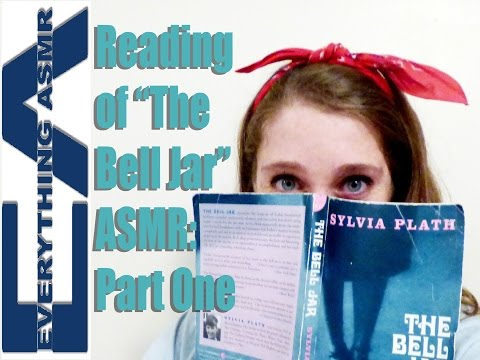 """Reading and Tapping ASMR (""""The Bell Jar"""" Part 1)"""