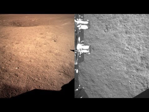 Chang'e-4 Lands On The Moon And Sends Back First Images