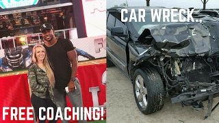 Wrecked The Car... | Free Online Coaching [ VLOG 16 ]