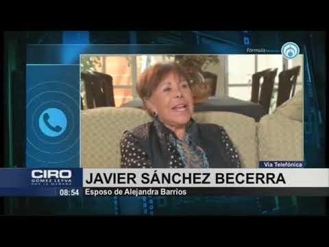 Esposo de Alejandra Barrios insiste que Padierna y Bejarano están detrás de su detención