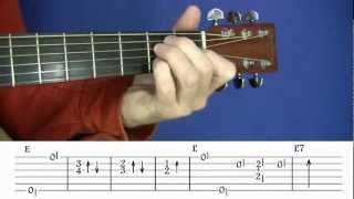 Acoustic Blues Techniques - #2 Lightnin
