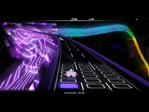 All Of Me - The Piano Guys [Audiosurf]