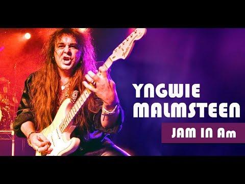 Yngwie Malmsteen Style Neoclassical Rock Ballad Backing Track Jam in Am