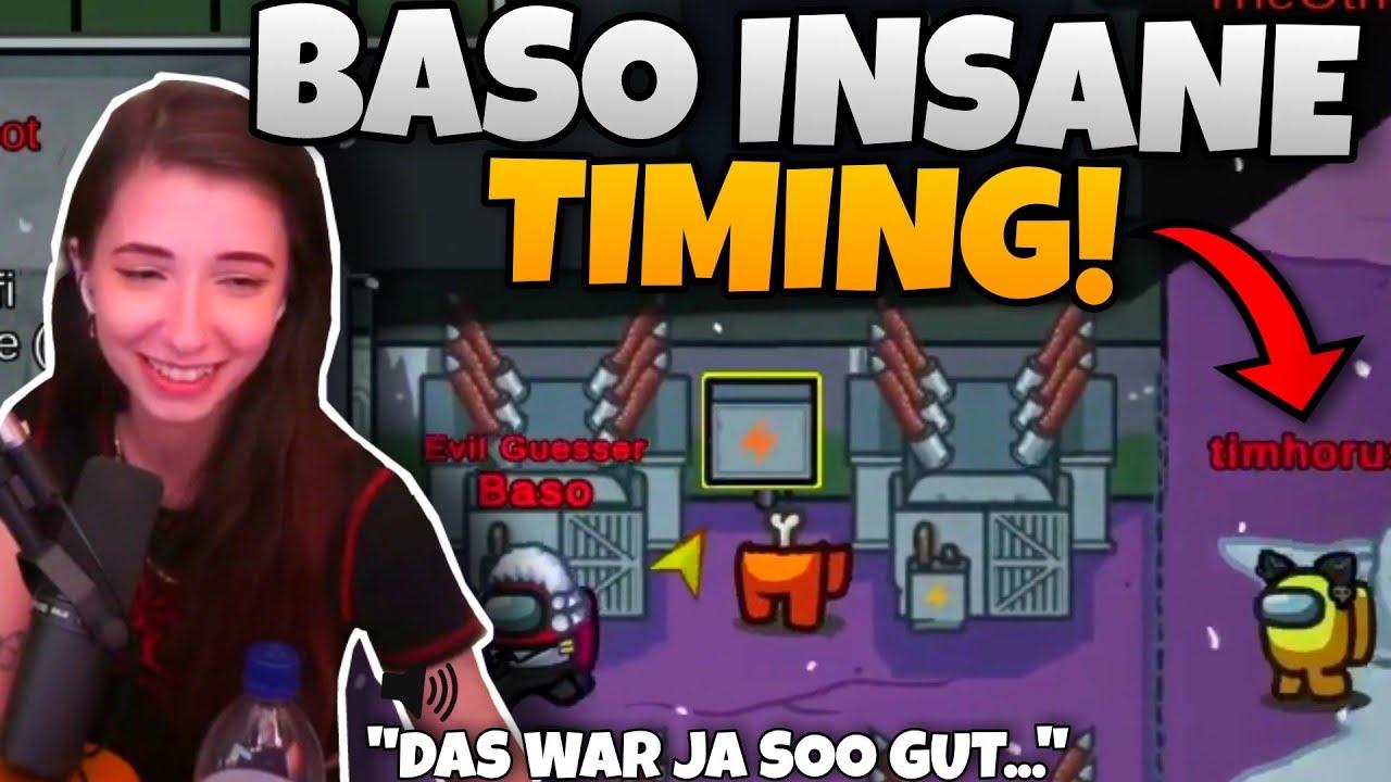 Baso hat PERFEKTES TIMING & Dhalu WEICHT KILL AUS - 589 IQ Movement | Among Us Highlights