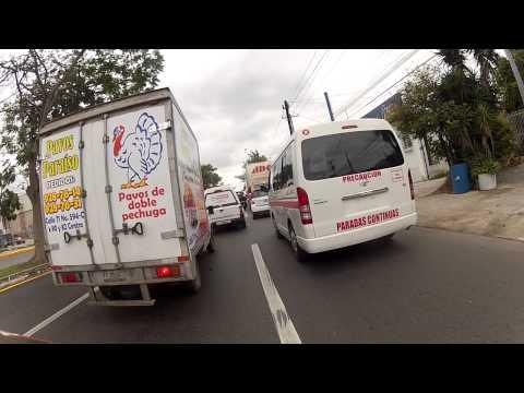 The Streets of Downtown Merida, Yucatan