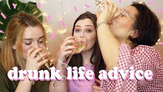 TERRIBLE DRUNK LIFE ADVICE - ONLINE DATING AND ACCEPTING YOURSELF | LUCY WOOD