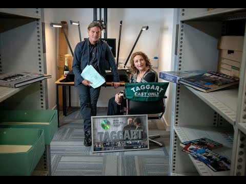 Blythe Duff donates her Taggart scripts to Glasgow Caledonian University