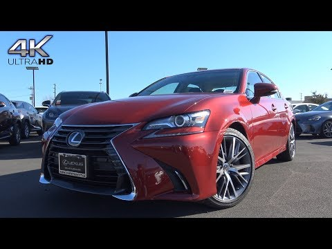 2018 Lexus GS350 3.5 L V6 Review
