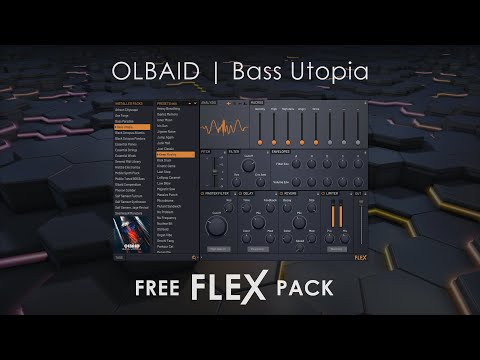 FLEX Library | Bass Utopia By OLBAID (FREE)