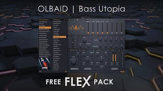 FLEX Library | Bass Utopia by OLBAID (FREE)