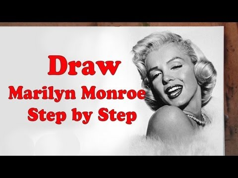 how-to-draw-marilyn-monroe-step-by-step