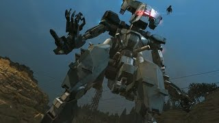EPIC FIGHT: SNAKE VS BIG GIANT ROBOT Sahelanthropus! MGSV: The Phantom Pain