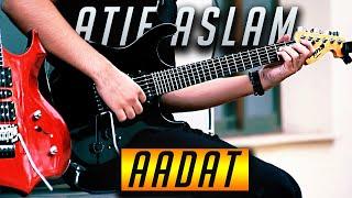 Download song Atif Aslam - Aadat - Electric Guitar Cover By Rafay Zubair (4K)