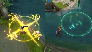 NEW SKILL EFFECTS REWORK STARLIGHT SKINS SABER & MIYA
