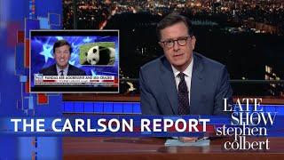 Tucker Carlson Stole Stephen Colbert's Panda Bit