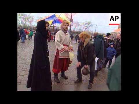 Russia - Ancient Russian holiday Maslenitsa