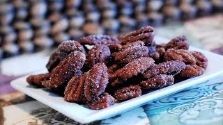 Homemade Candied Pecans ~ Sugar Free Recipe
