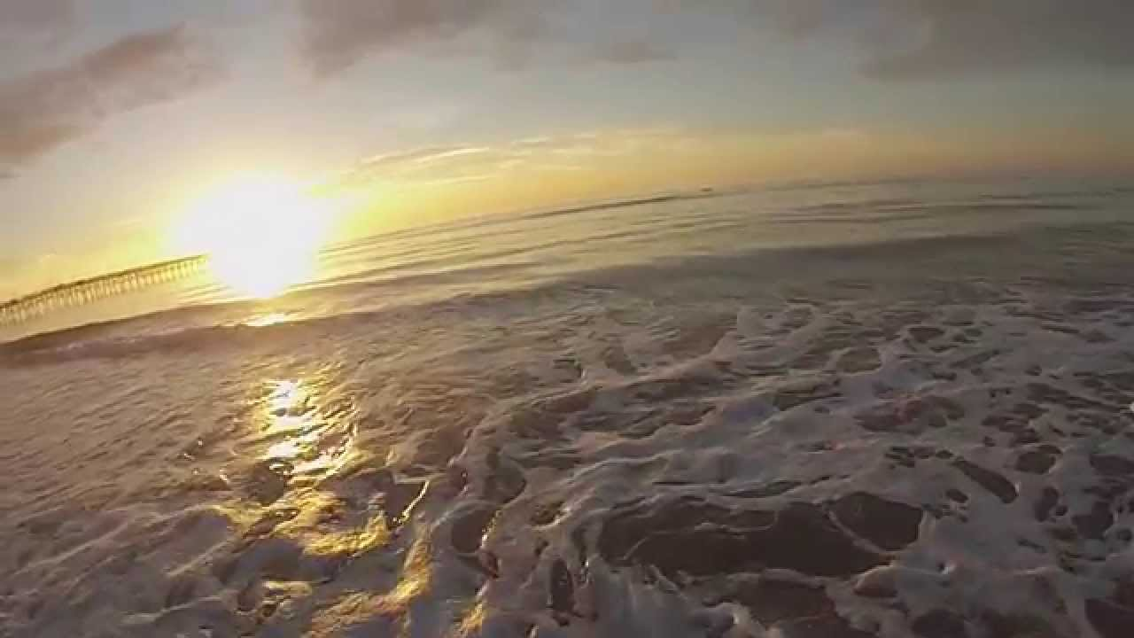 The beauty of surf fishing topsail island nc youtube for Topsail island fishing