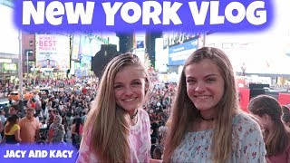 WE WENT TO NEW YORK! ~ 2017 Travel Vlog ~ Jacy and Kacy