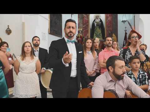 Salvador, Pitu (Yo soy del Sur), canta en la boda de su hermano - Manuel y Tamara