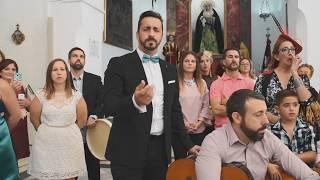 Salvador, Pitu (Yo soy del Sur), canta en la boda de su herm...